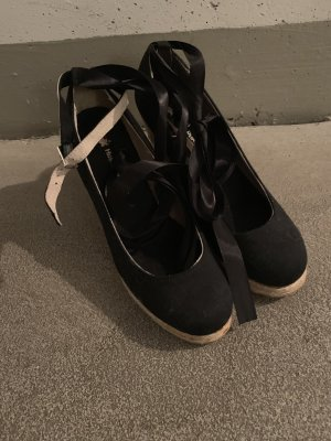 Hush Puppies Espadrille Sandals black