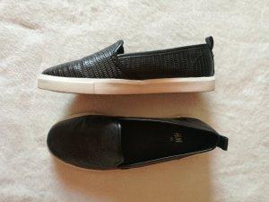 H&M Alpargatas blanco-negro