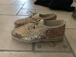 Lace Shoes gold-colored-rose-gold-coloured
