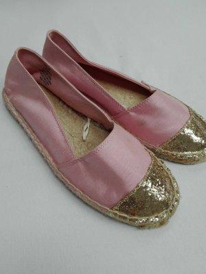 H&M Espadrille sandalen rosé