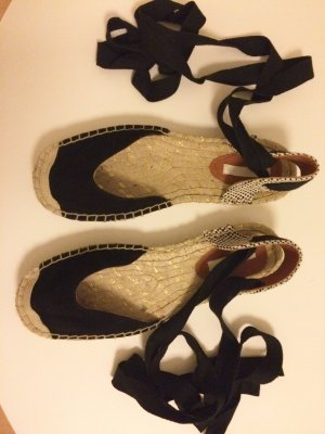 H&M Sandalen zwart