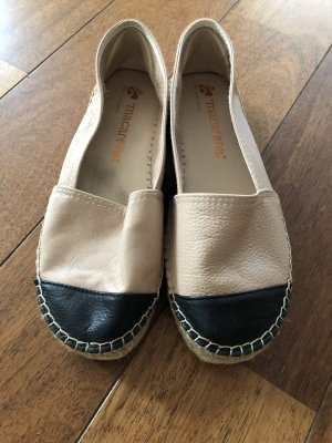 Macarena Moccasins black-cream