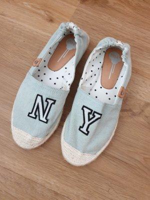 Espadrille Sandals light blue