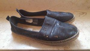 Deichmann Espadrille sandalen zwart