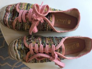 Mocassins multicolore lurex
