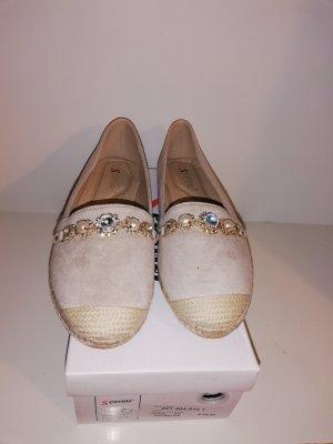 Espadrille Sandals gold-colored-cream