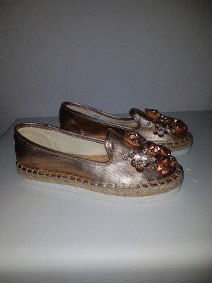 Head over heels Espadrille Sandals rose-gold-coloured