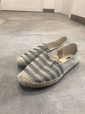Tom Tailor Espadrille sandalen goud-zilver