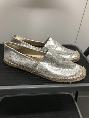 Xti Moccasins silver-colored