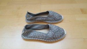 Tamaris Espadrille Sandals grey