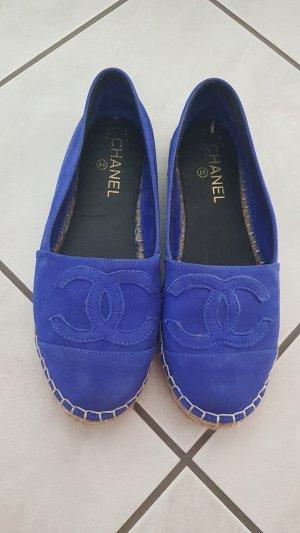 Espadrille Sandals neon blue