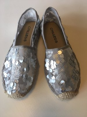 Slip-on Shoes silver-colored
