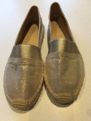Venice Moccasins gold-colored