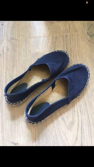 Sandalias cómodas azul oscuro