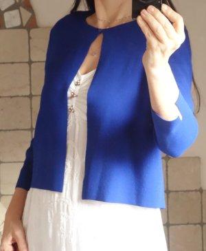 Esprit Boléro en tricot bleu viscose