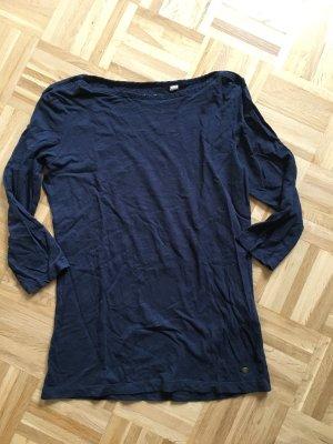 Esprit Camisa holgada azul oscuro