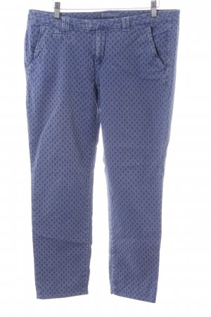 Esprit 3/4 Length Trousers blue allover print casual look