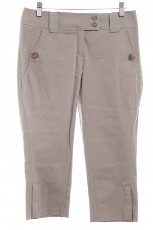 Esprit 3/4-Hose khaki-hellbraun Street-Fashion-Look