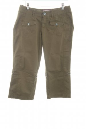 Esprit Pantalone a 3/4 cachi stile safari