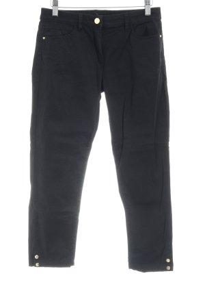 Esprit Pantalone a 3/4 nero stile professionale