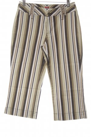 Esprit 3/4 Length Trousers striped pattern casual look