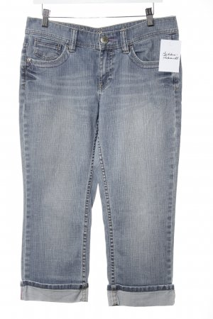 Esprit Jeans 3/4 bleu acier coton