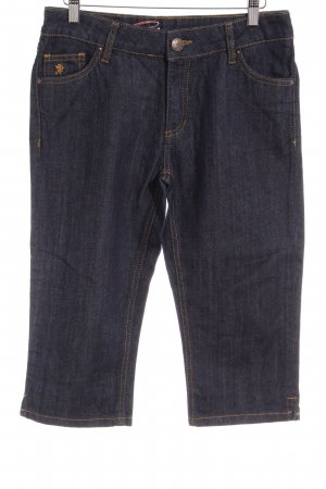 Esprit 3/4-jeans donkerblauw casual uitstraling