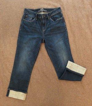 ESPRIT 3/4 Jeans, Größe 28 (W), blau, Saum mit Umschlag, sehr guter Zustand