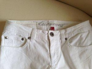 ESPRIT 3/4 Jeans Hose weiss Größe 36