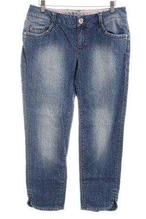 Esprit 3/4 Jeans stahlblau Casual-Look