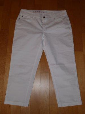 Esprit 3/4-broek wit Katoen