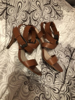 Esprit Strapped High-Heeled Sandals brown