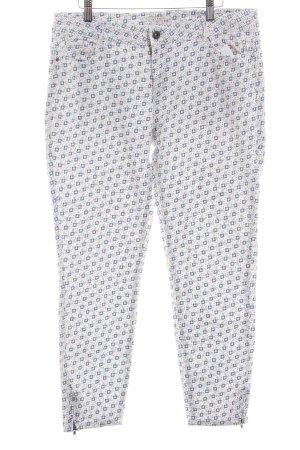 Esprit Pantalone a 7/8 motivo astratto stile casual