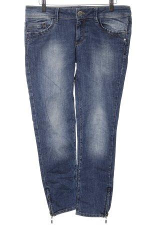 Esprit 7/8 Jeans blau Farbverlauf Casual-Look