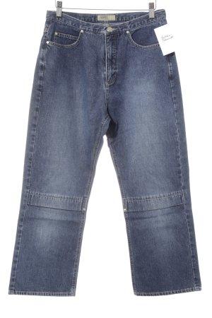 Esprit Jeans a 7/8 blu scuro stile casual