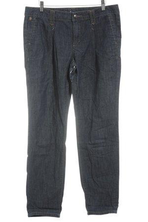 Esprit Jeans 7/8 bleu foncé style décontracté