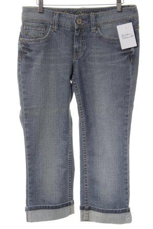 Esprit Jeans 7/8 gris ardoise-bleu pâle style décontracté