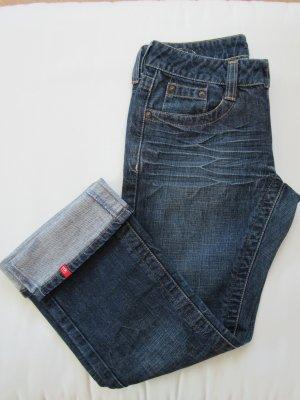 ESPRIT 7/8 Jeans in blauer Waschung