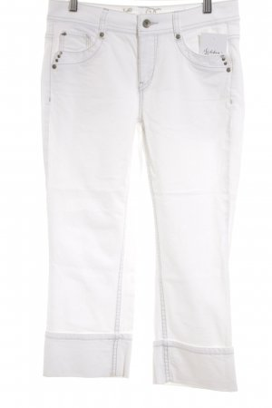 Esprit 7/8 Jeans weiß Casual-Look