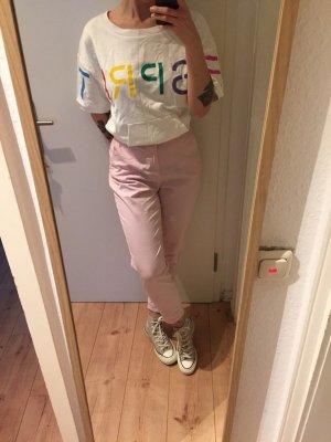 Esprit 90s Retro Collection rosafarbene High Waist Hose Neu!