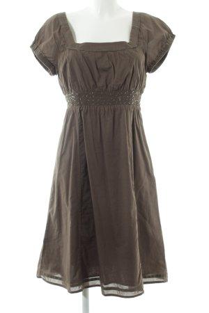 Esprit A-Linien Kleid braun Casual-Look