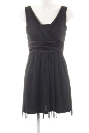 Esprit A-Linien Kleid schwarz Party-Look