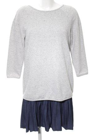 Esprit A-Linien Kleid hellgrau-blau meliert Casual-Look
