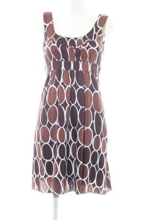 Esprit A-Linien Kleid abstraktes Muster Elegant
