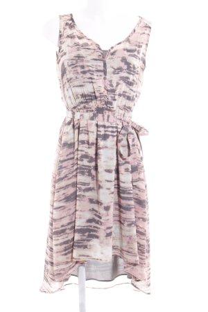 Esprit A-Linien Kleid abstraktes Muster extravaganter Stil