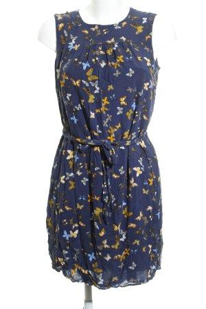 Esprit A-Linien Kleid Animalmuster Romantik-Look