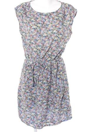 Esprit A-Linien Kleid Blumenmuster Casual-Look