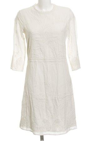 Esprit A-Linien Kleid creme Hippie-Look