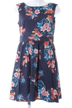 Esprit A-Linien Kleid florales Muster Beach-Look