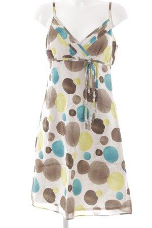 Esprit A-Linien Kleid Punktemuster 90ies-Stil